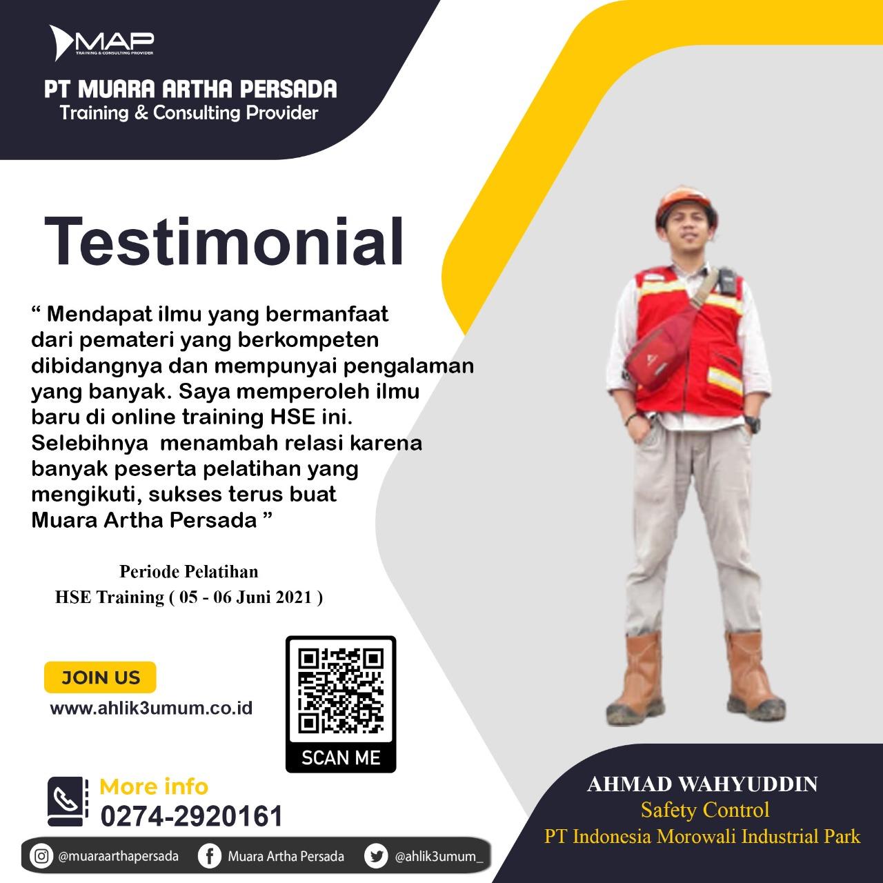 Pelatihan K3 - HSE Training